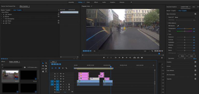 Edición de Vídeo con Adobe Premier